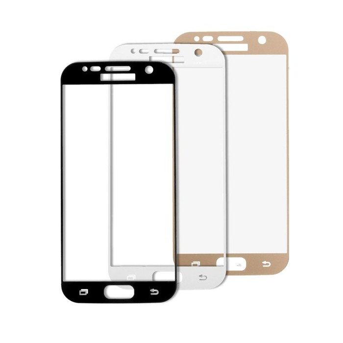 9H 0.2mm Full Cover Real Tempered Glass Screen Protector For Samsung Galaxy S7