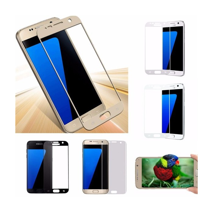 Full Curved HD 3D Tempered Glass Screen Protector Film For Samsung Galaxy S7