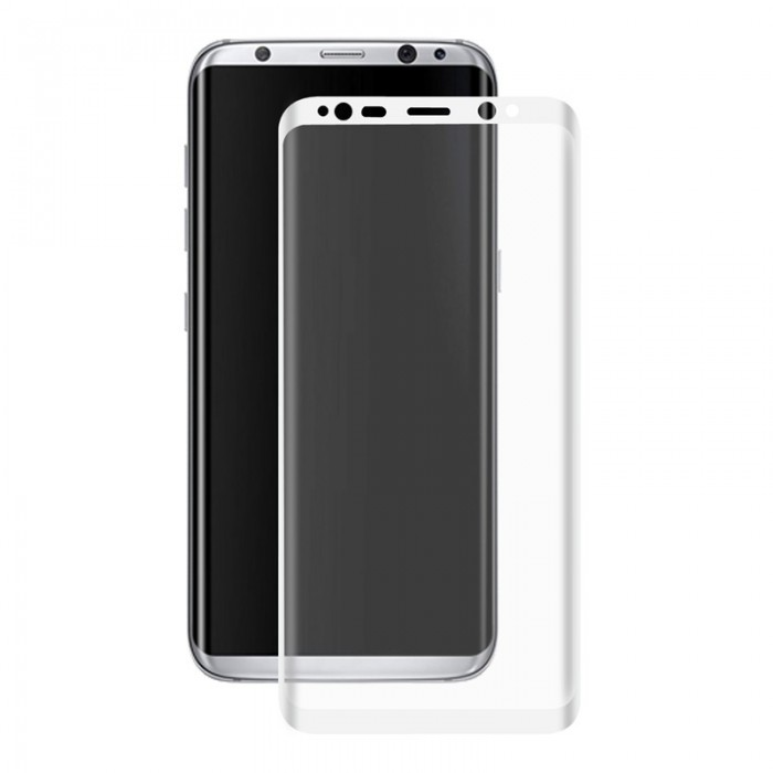 ENKAY 0.26mm 9H 3D Arc Edge Colored Tempered Glass Screen Protector For Samsung Galaxy S8