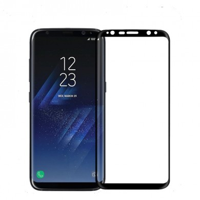 NILLKIN 3D Arc Edge 9H MAX Full Coverage AGC Glass Screen Protector for Samsung Galaxy S8 Plus 6.2