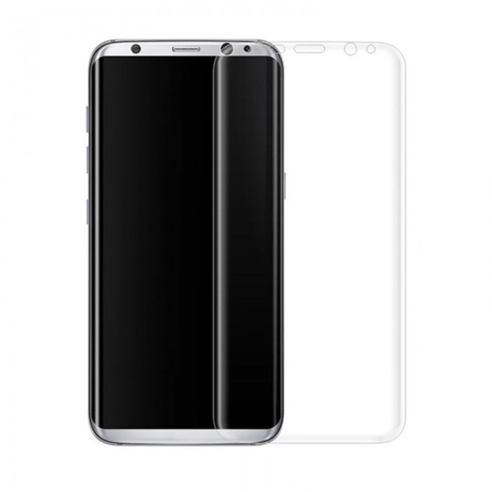 3D Curved Anti Spy Colored 9H Tempered Glass Screen Protector Film For Samsung Galaxy S8