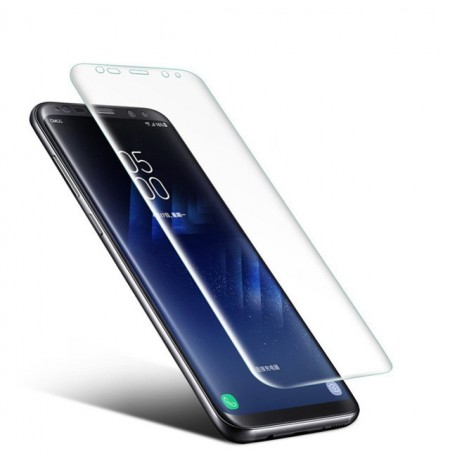 Soft PET Clear 3D Curved Edge Film Screen Protector for Samsung Galaxy S8 Plus