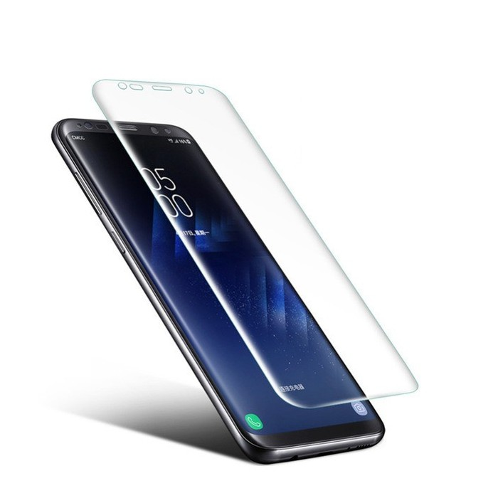 Soft PET Clear 3D Curved Edge Film Screen Protector for Samsung Galaxy S8