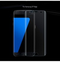 Soft PET 3D Curved Edge Clear Film Screen Protector for Samsung Galaxy S7 Edge