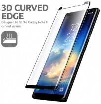 3D Curved Edge Tempered Glass Film For Samsung Galaxy Note 8