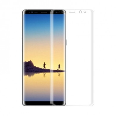 Soft Curved Edge Clear TPU Screen Protector For Samsung Galaxy Note 8