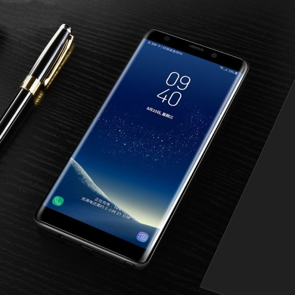 Bakeey 3D Curved Edge Tempered Glass Film With Transparent TPU Case for Samsung Galaxy Note 8