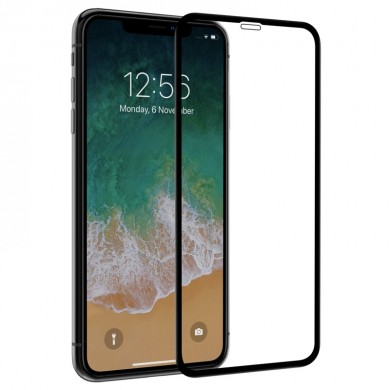 "Nillkin Screen Protector For iPhone XS Max 6.5"" 3D Curved Edge Scratch Resistant Anti Fingerprint Film"