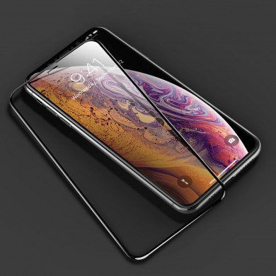 Rock 7D Curved Soft Edge Tempered Glass Screen Protector For iPhone XS Max 0.23mm Full Screen Film