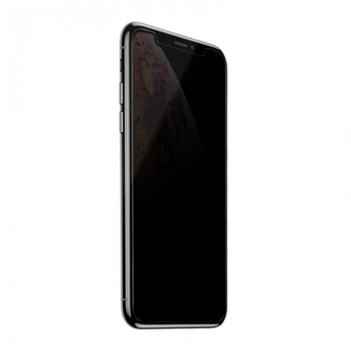 Baseus 0.3mm Anti-peeping Full Glass Tempered Glass Screen Protector For iPhone XS Max