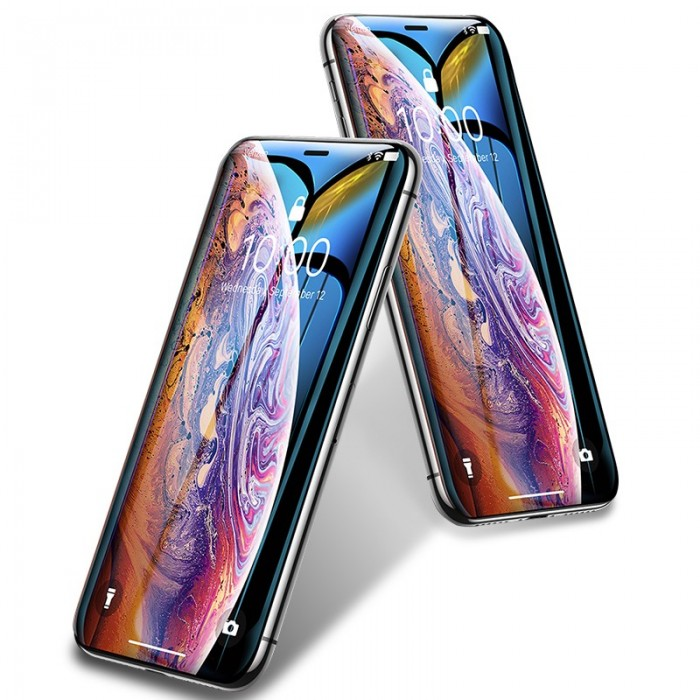 Bakeey 10D Curved Edge Cold Carving Scratch Resistant Tempered Glass Screen Protector For iPhone XS Max