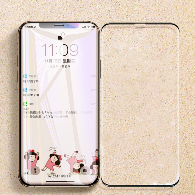 Bakeey Anti-Scratch Frameless 2.5D Curved Edge Tempered Glass Screen Protector For iPhone XS Max