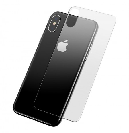 Baseus Clear Back Glass Protector para iPhone XS Max 0.3mm Scratch Resistant Anti Fingerprint All Glass