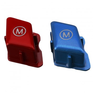 Car Steering Wheel Switch Button M Blue/Red For BMW 3 Series E90 E92 E93 M3 2007-2013