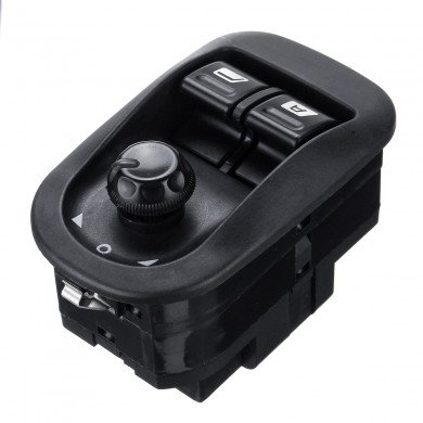 Power Window Switch Master Electric Mirror Button for PEUGEOT 206 306 2002-2016