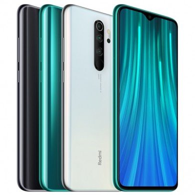 Xiaomi Redmi Note 8 Pro 6.53 inch 64MP Quad Rear Camera 8GB 128GB NFC 4500mAh Helio G90T Octa core 4G Smartphone