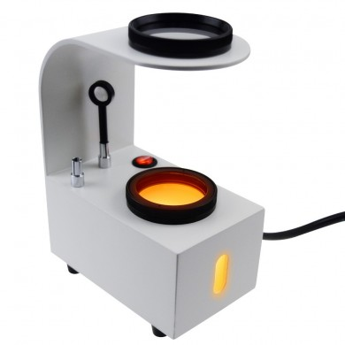 GS-PS1 Desktop Polariscope Built-in LED Gemstone 2 Glass Filter Gem Jewel Jeweller Tester Tool Loupes and Magnifier