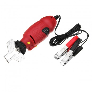 12V Chainsaw Sharpener Electric Handheld Grinder Tools File Set