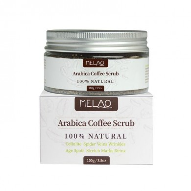 Esfoliante Facial MELAO Natural Arabica Coffee Scrub