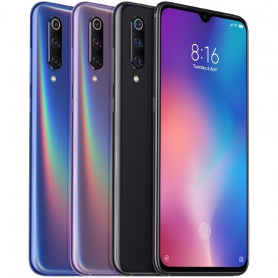 Xiaomi Mi9 Mi 9 6.39 inch 48MP Triple Rear Camera 20W Wireless Charge NFC 8GB 256GB Snapdragon 855 Octa core 4G Smartphone