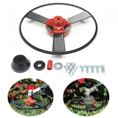 Universal Gardening Lawnmower Solid Steel Gas Trimmer Head Fitting