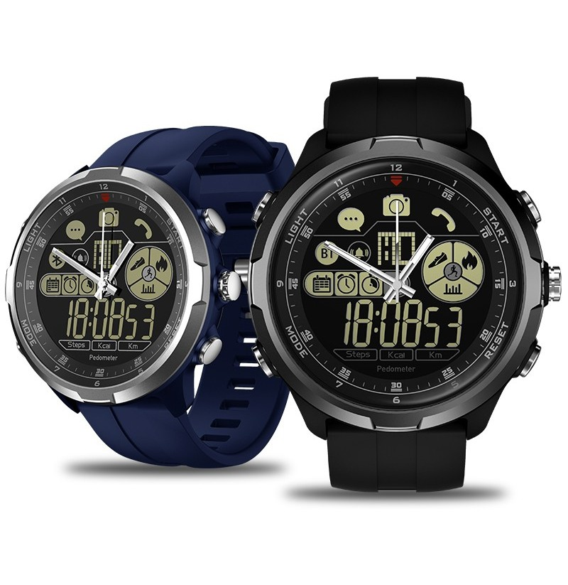 Zeblaze VIBE 4 HYBRID 1.24' All-day Activity 50ATM Call Social Message Reminder 24-month Standby Smart Watch (Color: Grey) фото