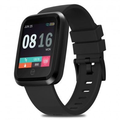 Zeblaze Crystal 2 HR Monitor All-day Activity Tracking 3D Dynamic UI 1.29 inch Screen Smart Watch