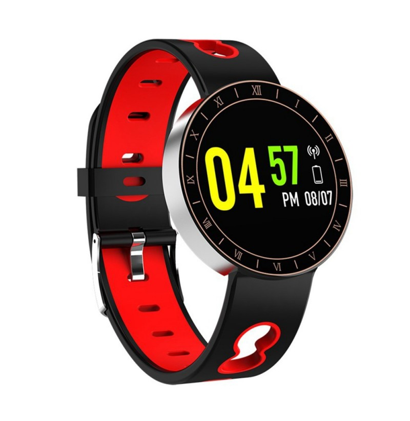 Bakeey A8 Ultra-thin Design HR Blood Pressure Sport Mode Call Reminder Remote Camera Smart Watch (NO.: 001) фото