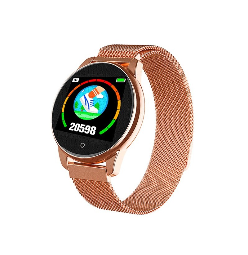 Bakeey DT29 1.3inch Large-view Round Display 24h Heart Rate Blood Presssure O2 Monitor 8 Sport Modes bluetooth Music Smart Watch (NO.: NO.6) фото