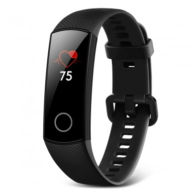 Huawei Honor Band 5 Global Version Blutsauerstoffoximeter AMOLED Touchscreen Schwimmhaltung Erkennen Sie die Herzfrequenz Smart