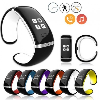 Bluetooth polso smart phone orologio da polso per ios iphone android