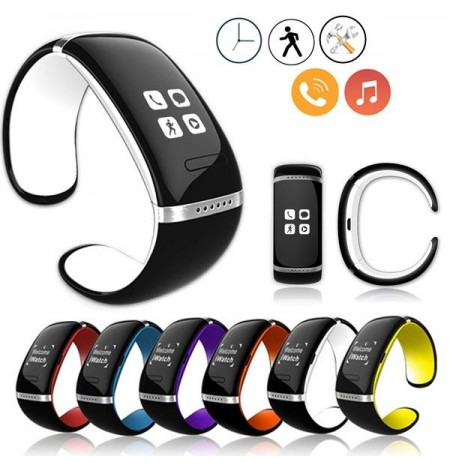 Bluetooth Smart Armband Wrist Watch Phone für iPhone IOS Android