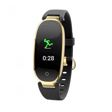 Bakeey S3 Donne 24 ore Dinamica Cuore Rate Sleep Monitor Sport Idoneità Music Control IP67 Smart Watch