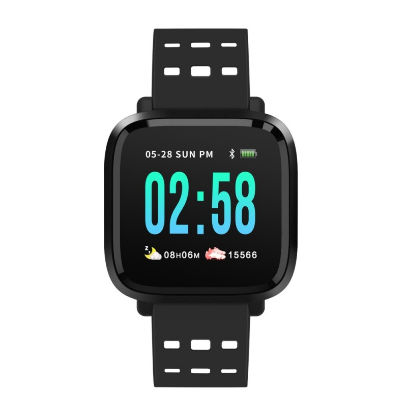 Bakeey I11 Pure Color Smart Watch Long Standby Heart Rate Monitor Multi Sport Mode Watch (Color: Red) фото