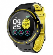 Bakeey V5s Lunetta in metallo Full Round Touch Dynamic Cuore Rate Sports Mode Smartwatch multilingue