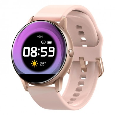 Bakeey C009 Real Full Touch Screen Quick Release Strap IP68 Heart Rate O2 Facebook Reminder Fashion Smart Watch