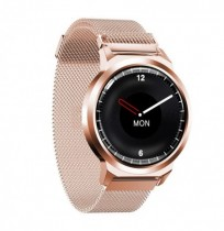 Bakeey H6+ 1.3inch Full-touch Circle Screen Real-time Heart Rate Blood Pressure Monitor Long Standby Smart Watch