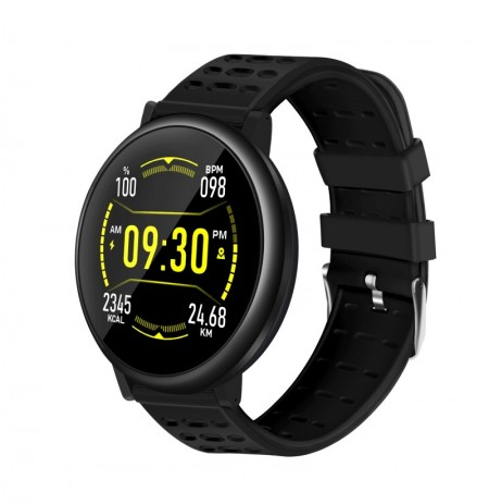 Bakeey S30 2.5D Full Touch Screen continuo Cuore Tasso remoto fotografica Previsioni meteo 20 giorni Standby Smart Watch