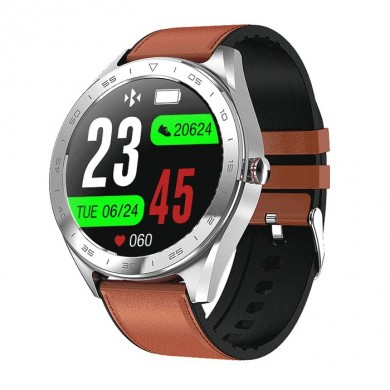 Bakeey Watch5 1.3inch IPS Flull-touch Color Screen Heart Rate Blood Pressure Oxygen Monitor Weather Push Smart Watch