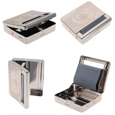 Cigarette Tobacco Roller Automatic Smoke Roller Smoking Rolling Machine Box Case