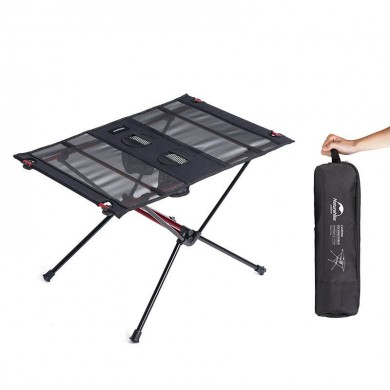 Naturehike NH19Z027-Z Portable Folding Table Ultralight Aluminum Alloy Camping Picnic Desk Max Load 30kg