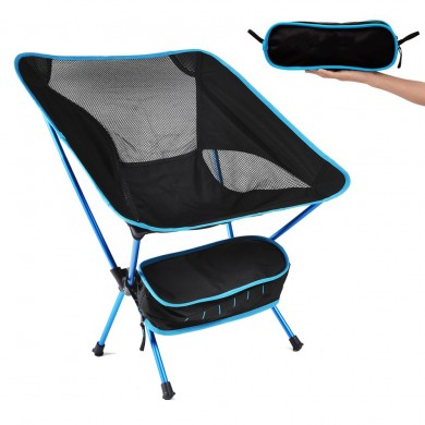 Outdoor Portable Folding Chair Ultralight Camping Picnic Beach Seat Stool