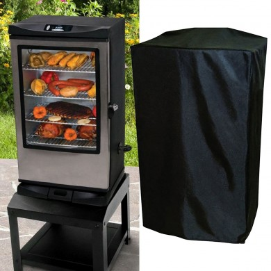30inch Electric Smoker Waterproof Cover Outdoor Furniture Rain Dust Protector