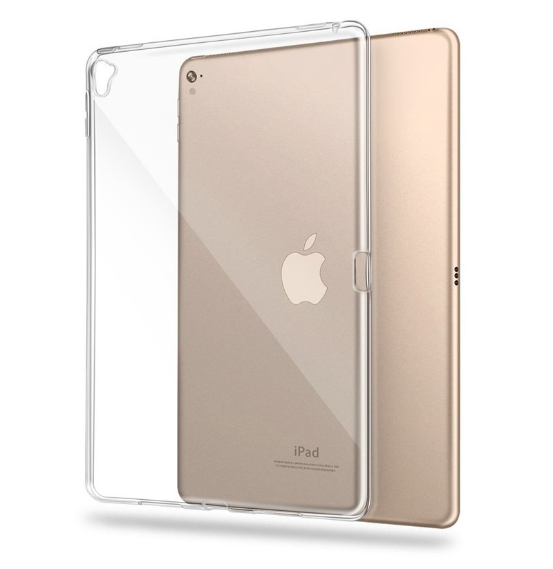 Clear Transparent Soft TPU Case For iPad Pro 9.7 2016/iPad Pro 12.9 2015 (Apple Model: Pro 9.7 )  - buy with discount