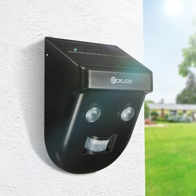 Digoo DG-SSR-1 Gardening Solar Wireless PIR Sensor Long Distance Waterproof Outdoors Wall Light