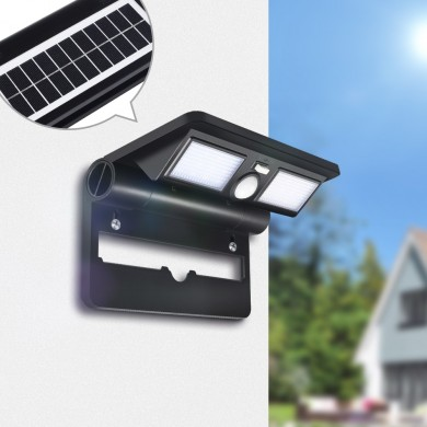 Digoo DG-FCR-1 Garden Porch Patio LED Lâmpada Folding Lights Solar Wireless PIR Sensor Waterproof Wall Light