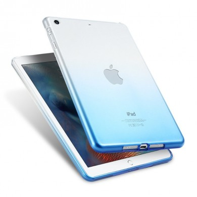 Gradient Color Transparent Soft TPU Case For iPad Air/Air 2