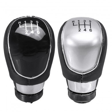6 Speed Gear Stick Shift Knob For Ford Focus 2 MK2 FL MK3 MK4 MK7 Mondeo Kuga Galaxy Fiesta