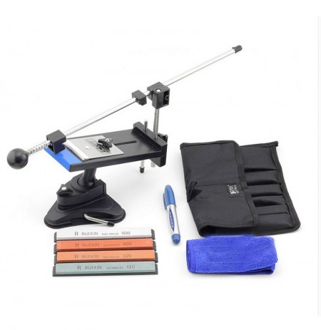 Professional Sharpen Stone Cutter Sharpener System Fix-angle with 4pcs Whestones