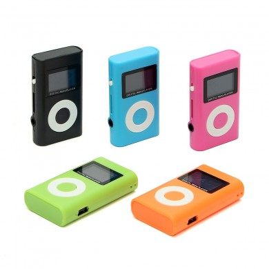 Mini USB MP3 Media Player de música LCD Soporte de pantalla 32GB Ranura para tarjeta de micro SD TF